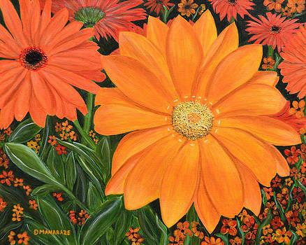 Tangerine Punch by Donna  Manaraze