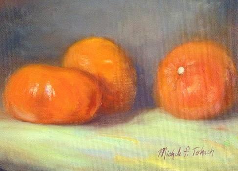 Tangerines by Michele Tokach