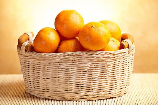 Tangerines by Monika Wisniewska