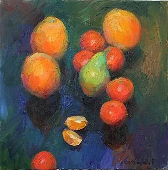 Tangerines by Vadim Makarov