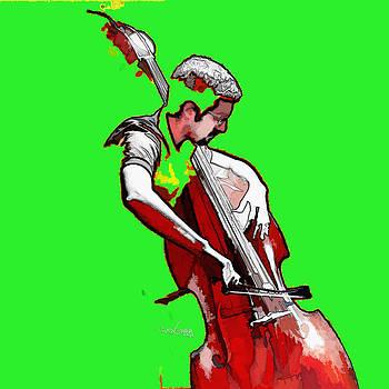Tango Argentino - The Musician by Reno Graf von Buckenberg
