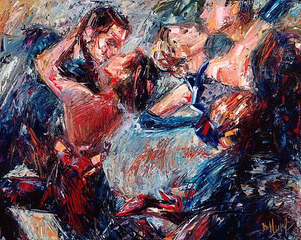 Tango Club 1 by Debra Hurd