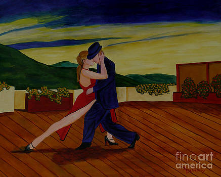 Tango on the Rooftop by Anthony Dunphy