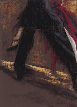 Tango Triptych El Pulpo by Jocelyn Paine