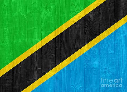 Tanzania flag by Luis Alvarenga