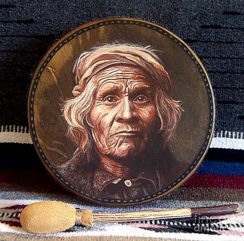Taos Man Drum by Stu Braks