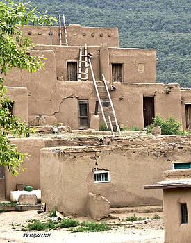 Allen Sheffield - Taos Pueblo 3