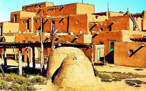 Taos Pueblo II by Dan Dooley