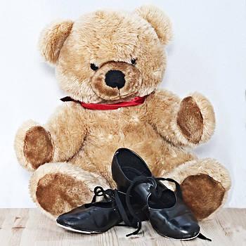 Pedro Cardona Llambias - Tap dance shoes and Teddy Bear dance academy mascot