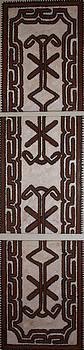 Tapa Cloth - Triptych  by Carol Tsiatsios