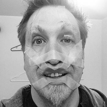 Tape Face #tape #freak #igdaily by Craig Kempf
