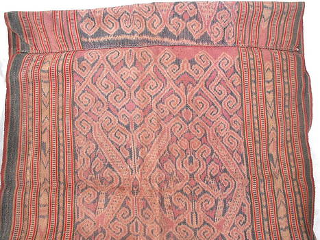 Tapestry Ikat Pua Kumbu skirt originating from Sarawak North Borneo by Anonymous artist