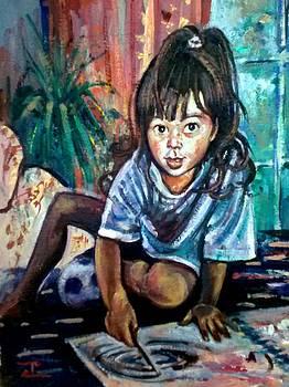 Tara Drawing by Philip Corley