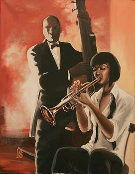 Tarantino-jazz by Irina Sergeyeva