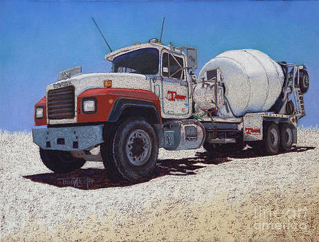Tarbet Cement Truck by Tracy L Teeter