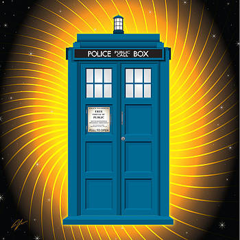 TARDIS one by James Lewis