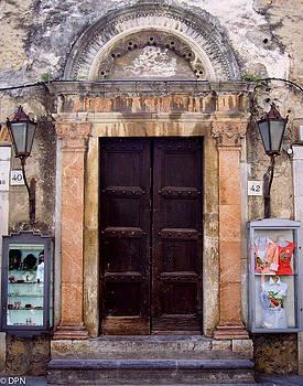 Taromina Doorway by David Nichols