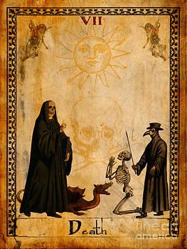 Tarot Card Death by Cinema Photography