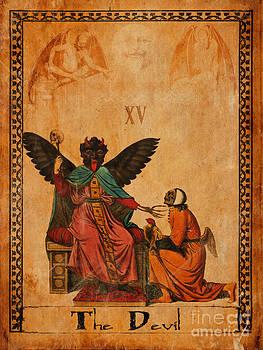 Tarot Card The Devil by Cinema Photography