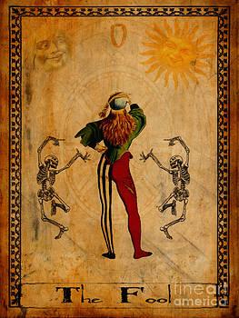 Tarot Card The Fool by Cinema Photography