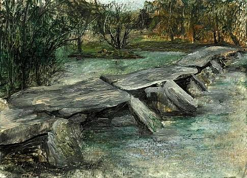 Tarr Steps by Carol Rowland