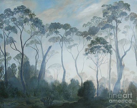 Tasmania in the Clouds by Kelly Borsheim