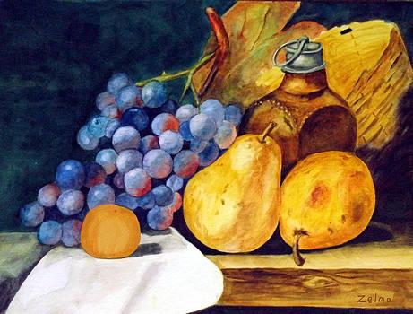 Tasty Fruit by Zelma Hensel