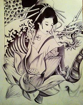Tattoo drawing by Maritza Montnegro