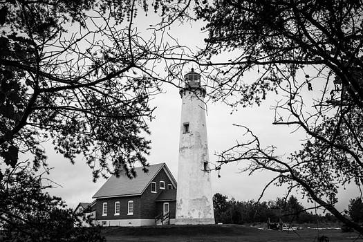 Tawas Point Lighthouse by Kimberly Kotzian