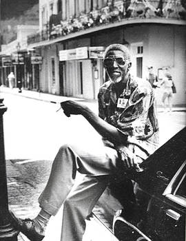 Taxi Driver In New Orleans circa 2000 by Michael Morgan