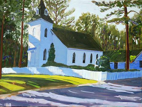 Taylor Ebeneezer UMC Church by David Carson Taylor