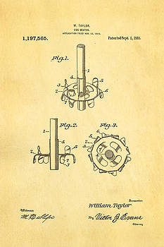 Ian Monk - Taylor Egg Beater Patent Art 1916