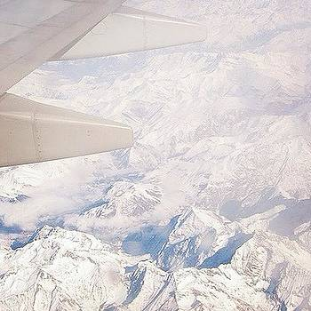 #tbt November 2007 Flying Over The Alps by Stephanie Tomlinson