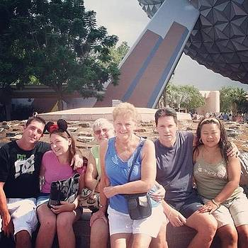#tbt #september2008 #family #epcot by Crystal Duncanson