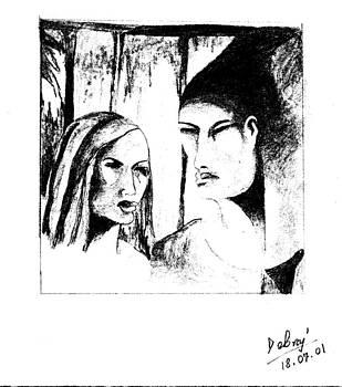 Te recuerdo como eras en el ultimo otono... by Debraj Mandal
