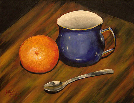 Tea and Oranges by Julia Robinson