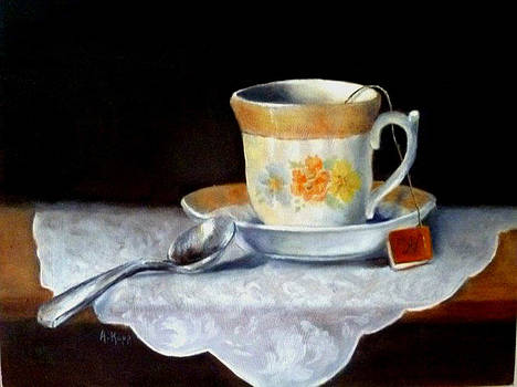 Tea Time by Alexandra Kopp