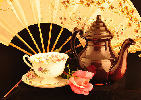 Tea Time by Cherie Haines