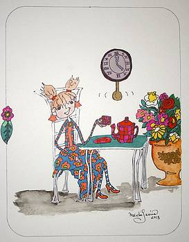 Tea Time by Mary Kay De Jesus