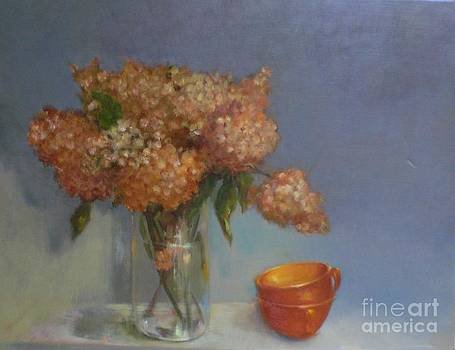 Teacups and Hydrangeas   copyrighted by Kate Hoekstra