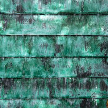 Teal water panels by Jocelyn Friis