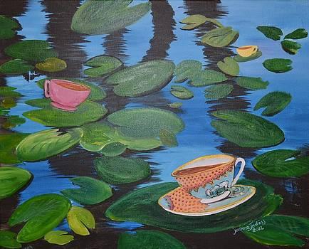Tealilies by Joanna Baker - Jenkins