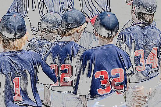 Team of baseball boys. by Tammy Abrego