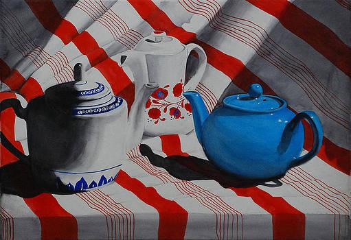 Teapot Council by Luane Penarosa