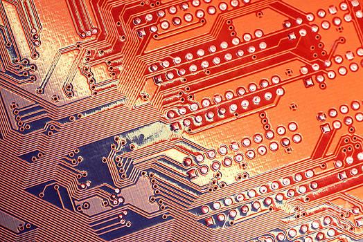 Tech Abstract by Tony Cordoza