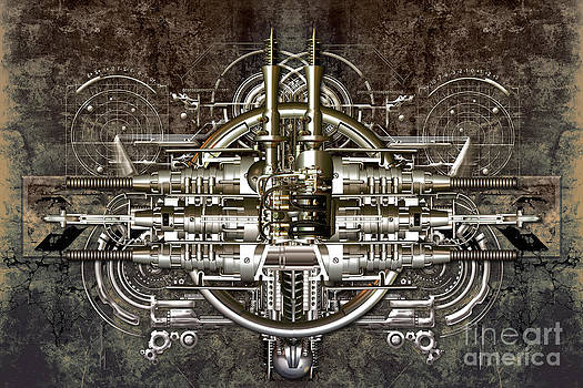 Technically electronic background by Diuno Ashlee