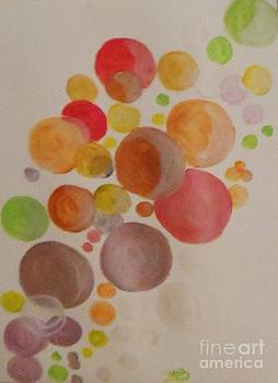 Technicolor Bubbles by Marie Bulger
