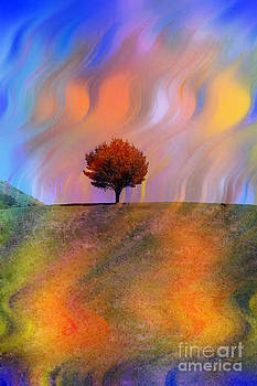Technicolor Park-Colorful Summer by Linda Matlow