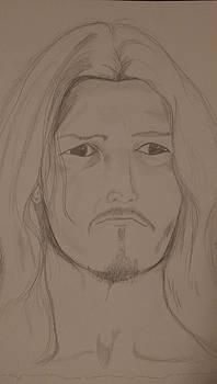 Ted Neeley as Jesus by Carlos Alvarado