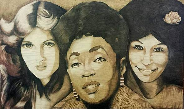 Teena Marie Anita Baker and Chaka Khan by Jeremy JAH SUNNY Johnson-LeMieux
